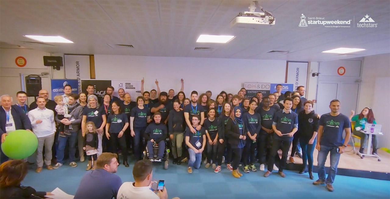 Vidéo Startup Weekend Saint-Brieuc 2019