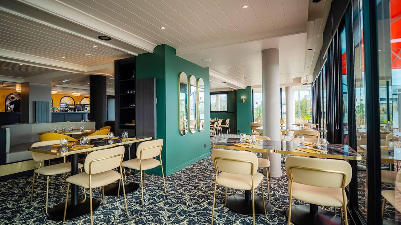 Agencement du restaurant Victoria par Calme Intérieur, Agenceur en Bretagne
