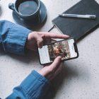 Utilisateur publiant du contenu au meilleur moment sur Instagram